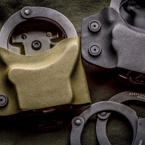 Kydex Handcuff Carrier For Chain or Hinge Cuffs