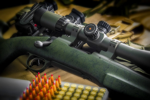 Remington 700 in OD Green Duracoat